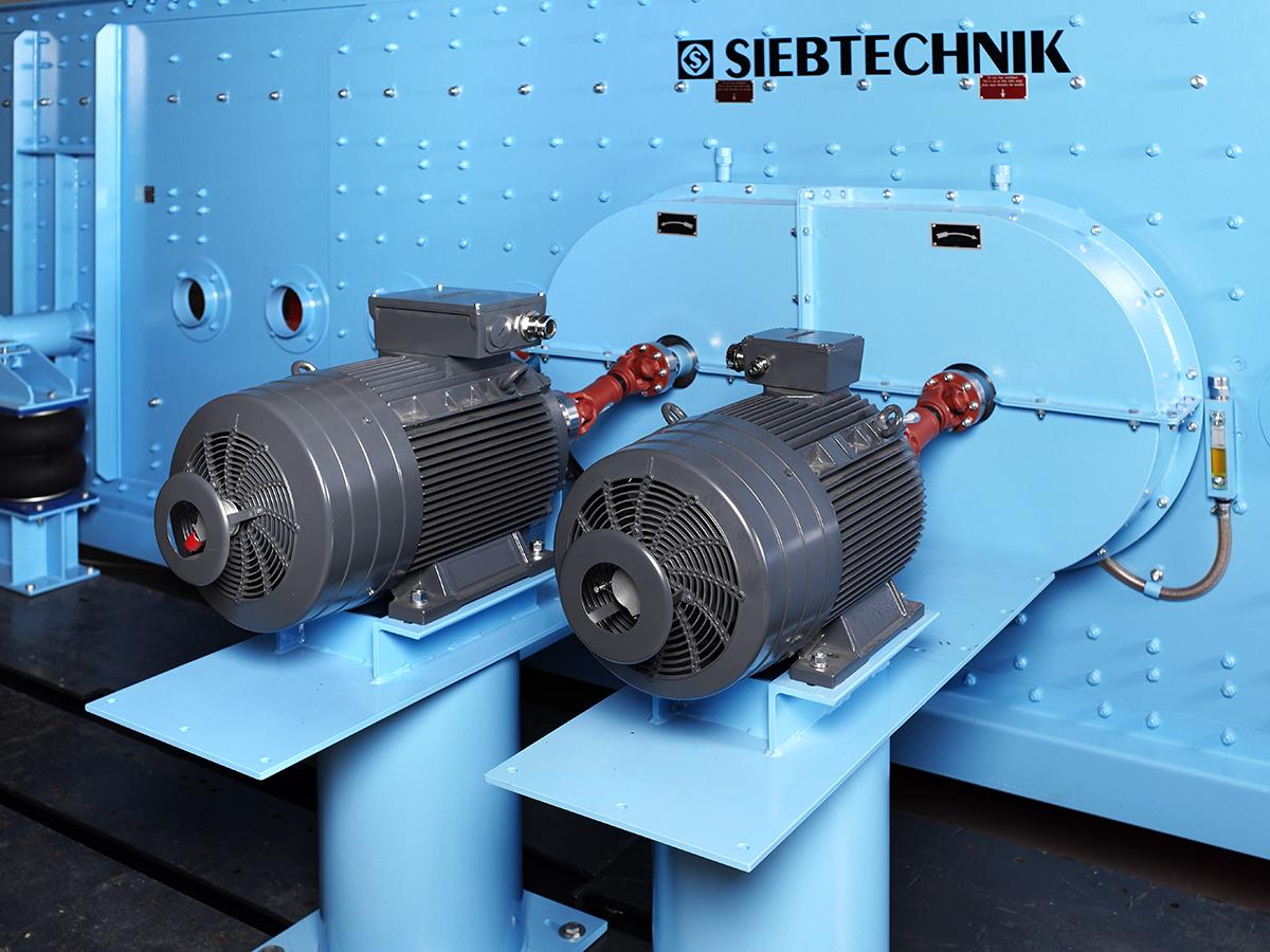 Ellipsenschwingsiebmaschine Typ E24-70