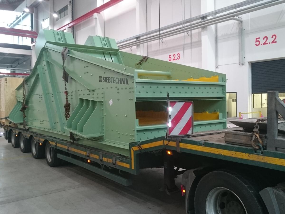 Linearschwingsiebmaschine HG 22,5 76-II WS Versand