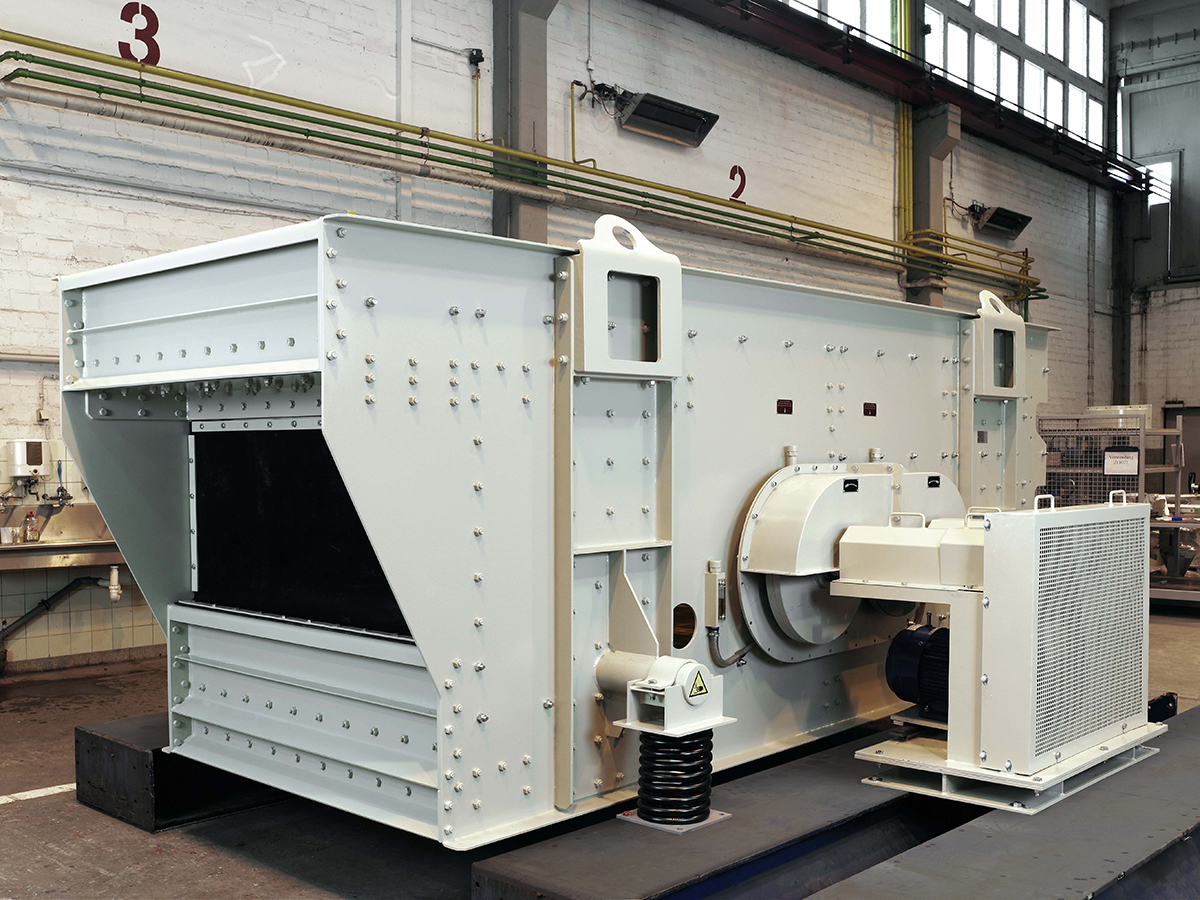 Mechanical elliptical-motion screening machine