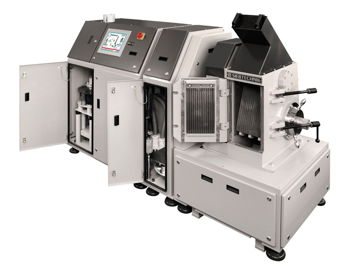 Automatic milling and pressing system AMP