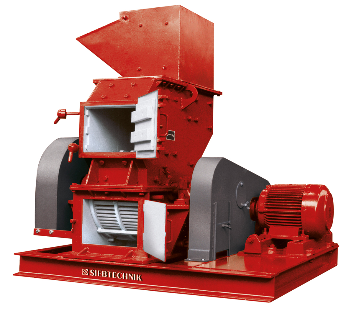 hammer mill HM 3 with feed hopper