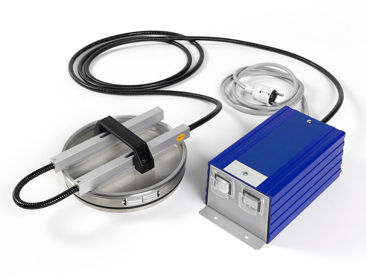 Luftstrahlsieb SLS 200 Ionisierungsvorrichtung zur Reduzierung der elektrostatischen Kräfte