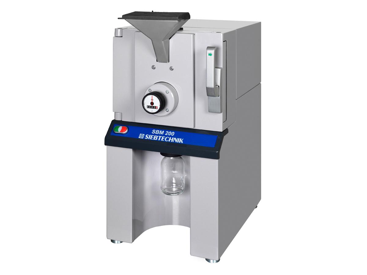 Scheibenschwingmühle SBM 200 zur Feinzerkleinerung von weichen bis harten Materialien