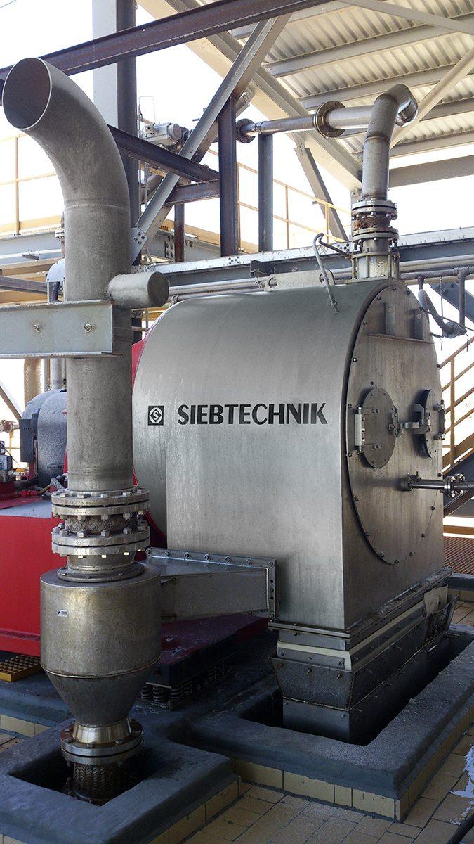 Schubzentrifuge SHS Anlagenbild