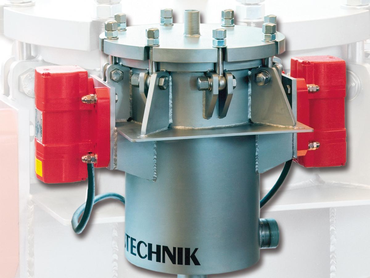 Suspensionskontrollsiebmaschine SKS - bei Fremdstoffen und Agglomeraten