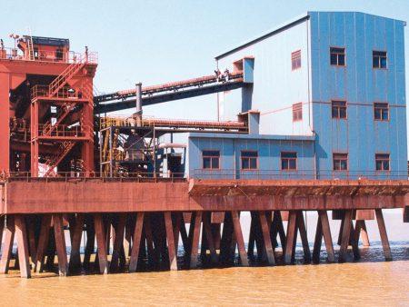 Probenahmeanlage für Eisenerz inkl. Schiffsentladung in Beilun, China