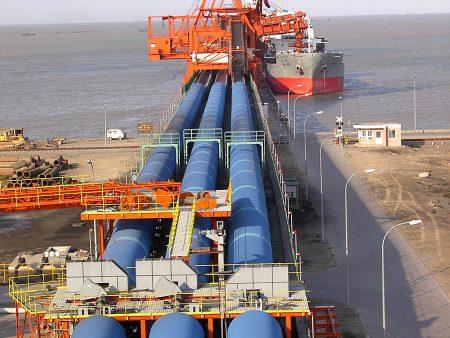 Probenahmeanlage Anlage zur Entladung von Schiffen in Huanghua, China