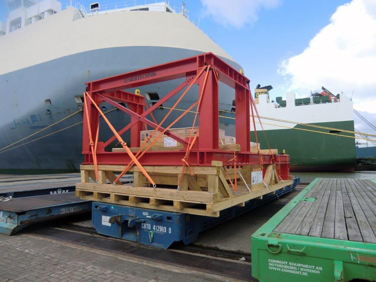 Zubehör Bananensiebmaschine BHG 30-60-I S Gegenschwingrahmen Transport